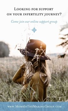 Are you going through infertility? Do you feel all alone? Come join the Moms in the Making online support group and connect with others from all over the world who understand.