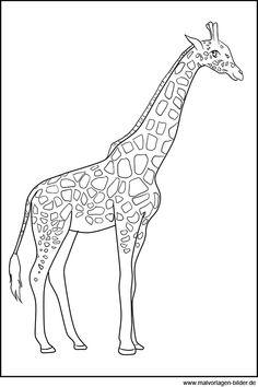 ausmalbilder f r kinder malvorlagen und malbuch ausmalbilder afrikanische tiere. Black Bedroom Furniture Sets. Home Design Ideas