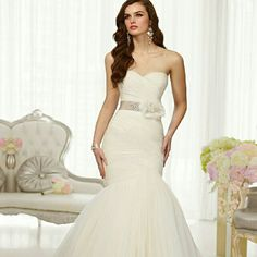 http://www.ckdress.com/fit-and-flare-sweetheart-ruched-bodice-wedding-dresses-with-detachable-beading-belt-p-514.html