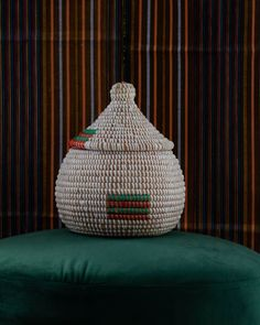 SALY BASKET • Maison Petite & Bold Bright Colors, Colours, Red Green, Color Mixing, Things To Come, Basket, Traditional, Prints, Handmade