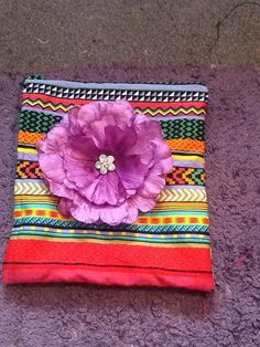 Clutch/ make up / pouch zip up bag by Fayenique on Etsy