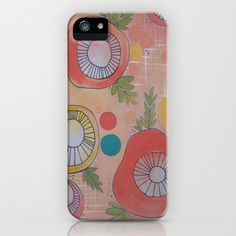 Whimsy & Such iPhone & iPod Case by  JESSIE SCHULLER  - $35.00