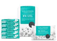 Lillydoo Testpaket mit Windeln in Größe 4 und 15 Feuchttüchern