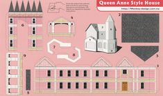 Queen Anne Style House - Cut Out Postcard | by Shook Photos
