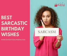 Here are some of the best sarcastic birthday wishes you can send to someone. With these wishes, you can share the gift of laughter and memory-making. Sarcastic Birthday Wishes, Late Happy Birthday Wishes, Birthday Wishes For Brother, Birthday Wishes For Myself, Best Birthday Wishes, Funny Birthday, Words To Describe Yourself, Wish You The Best, Are You Happy