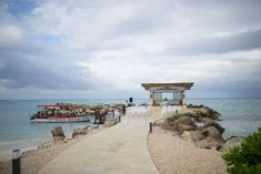 Real Wedding - Luxury Beachside Montego Bay Ceremony - You Mean The World To Me : You Mean The World To Me