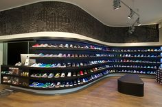 Secrets Of Sneaker Shopping – Sneakers UK Store Shoe Room, Shoe Closet, Sneaker Storage, Shoe Storage, Hypebeast Room, Shoe Store Design, Shoe Display, Hype Shoes, Dream Closets