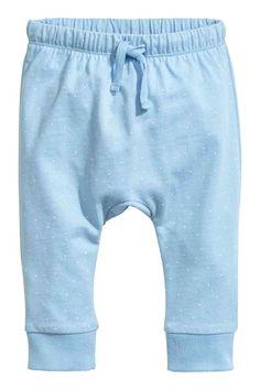 Jersey trousers - Light blue - Kids | H&M 1