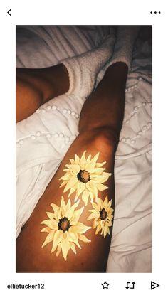 Ellie Tucker on VSCO leg painting sunflowers – Body Art Leg Painting, Painting & Drawing, Belly Painting, Skin Paint, Body Paint Art, Leg Art, Art Hoe, Summer Aesthetic, Chalk Art