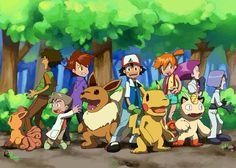 Pokemon/Digimon crossover