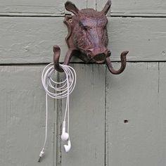 Warthog Coat Hook — The Worm that Turned