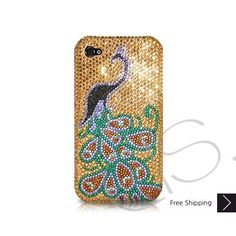 Peacock Bling Swarovski Crystal iPhone 5 Case