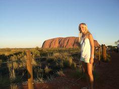 Uluru- How to travel Australia Alone