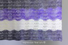 Expression Fiber Arts, Inc. - Destiny Crochet Baby Blanket, $0.00 (http://www.expressionfiberarts.com/products/destiny-crochet-baby-blanket.html)