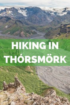 Hiking in Thórsmörk is one of the best experiences in Iceland. Discover the best trails for a day trip to this beautiful nature reserve. Experience the best hiking trails in Iceland at Thórsmörk.