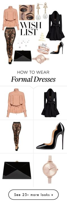 """""""#PolyPresents: Wish List"""" by sdgfashion on Polyvore featuring Stella Jean, Rocio, Michael Kors, Blue Nile, contestentry and polyPresents"""