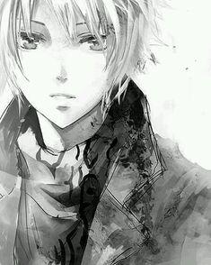 Anime World, anime, anine boy, monochrome, black and white
