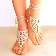 Barefoot sandals- cute without or with flip-flops :)