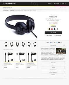 #ecommerce #responsivewebdesign #Scosche  http://www.guidance.com/work/scosche-industries