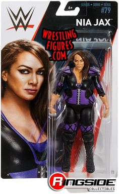 Nia Jax WWE Mattel Series 79 Action Figure Toy - Walmart Edition for sale online Figuras Wwe, Wwe Wrestling Action Figures, Wrestling Wwe, Wwe Money, Wwf Hasbro, Wwe Belts, The New Batman, Nia Jax