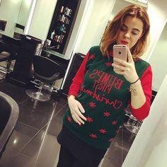 It's #christmasjumper day! The best day of the year We are donating the money raised to @greatormondst #rush #rushhair #rushforlife #greatormondstreet #greatormondstreethospital #gosh #christmas #salon #hair #hairdresser