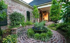Garten Landschaftsbau mit Ziegeln – 15 tolle Gartengesteltung Ideen - terrasse…