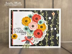 Beautiful Bouquet, AEstamps a Latte...: Sunday Stamps! #160