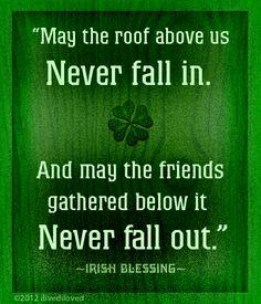 Irish blessing from ilivediloved.com