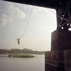 The Brown's Island rope swing is one of Richmond's most popular ways to cool off in the summer heat! Hipster Quote, Rope Swing, Image Archive, Choose Life, Music Film, Photo Projects, Community Art, Outdoor Fun, Beautiful World