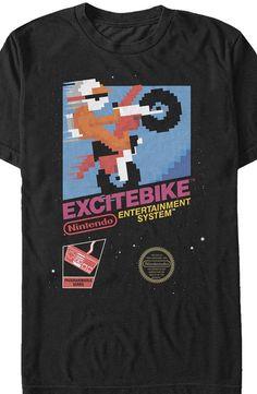 Cartridge Art Excitebike T-Shirt d8d54a95567