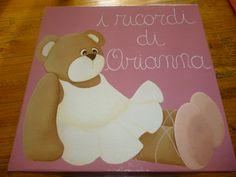 scatola con orsetta ballerina