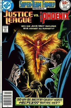 Super Team Family Justice League and Phoenix