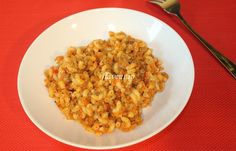 PASTE CU SOS DE ROSII SI CARNE DE VITA Paste, Kids Meals, Risotto, Macaroni And Cheese, Ethnic Recipes, Food, Bebe, Mac Cheese, Mac And Cheese