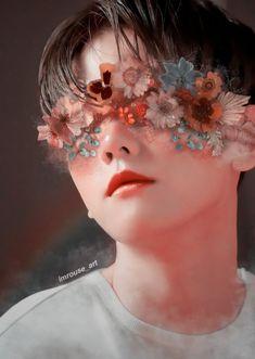 Chanbaek Fanart, Baekhyun Fanart, Exo Chanbaek, Kim Minseok, Exo Chanyeol, Baekhyun Wallpaper, Exo Lockscreen, Exo Fan Art, Creative Makeup Looks