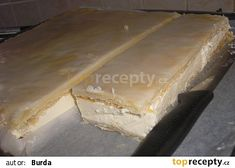 Žloutkové řezy I. recept - TopRecepty.cz Butcher Block Cutting Board, Food, Lemon Tarts, Essen, Meals, Yemek, Eten