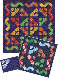 Knitting Mittens Quilt