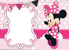 Minnie mouse birthday party invitation template free free birthday discover ideas about minnie mouse party filmwisefo