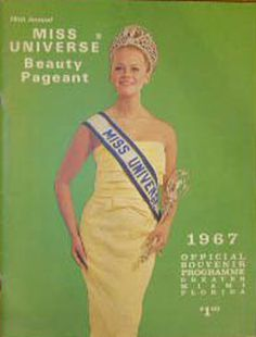 Margareta Arvidsson Miss Universe 1966 (Sweden) on the cover of 1967 Miss Universe Pageant Program Book Miss Usa, Miss Univers, Beauty Contest, Book Organization, Beautiful Inside And Out, Album, Beauty Pageant, Beauty Queens, Vintage Beauty