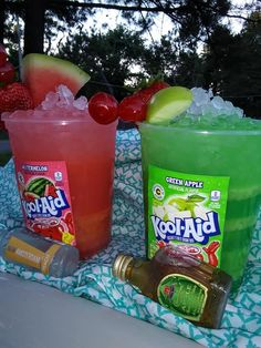 Punch without alcohol - Clean Eating Snacks Mixed Drinks Alcohol, Alcohol Drink Recipes, Punch Recipes, Alcohol Punch, Candy Drinks, Liquor Drinks, Beverages, Cocktails, Cocktail Drinks