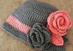 Graficos de gorros tejidos a crochet - Imagui