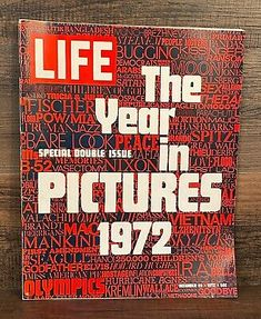 FOR SALE! December 1972 original entire Life Magazine - The Year of Pictures 1972 Double Issue. Vintage Doral Cigarette ad, vintage photos, articles and ads