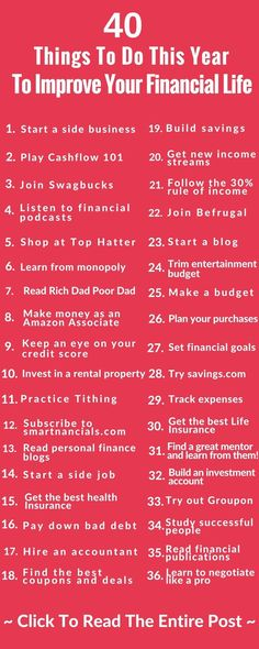 These are some amazing ways to improve your finances this year  Save money  Side hustle  Life insurance  Make a budget  save money  start a side business  These are some tips that can make you help you out a lot! #FinanceBinder