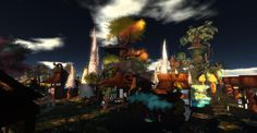 Fantasy Faire 2011 - Fantastical and Sims, Fantasy, Explore, Landscape, Painting, Art, Art Background, Mantle, Imagination
