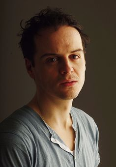 """He's one of the few people I know who can really convince you he's mad, that he's psychotic, even though he's very attractive and looks inoffensive. He's not a huge, terrifying figure, but there's something terrible behind those eyes. There's something dead in him… like something else is inside him."" - Mark Gatiss on Andrew Scott."