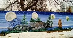 #Canada's largest outdoor mural at #AllanGardens in #Toronto!: http://www.thepurplescarf.ca/2015/04/explore-toronto-allan-gardens-conservatory-park.html #streetart #nativeart #thepurplescarf #melanieps #culture #ExploreTO