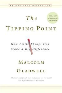 An introduction to the Tipping Point theory explains how minor changes in ideas and products can increase their popularity and how small adjustments in an individual's immediate environment can alter group behavior.