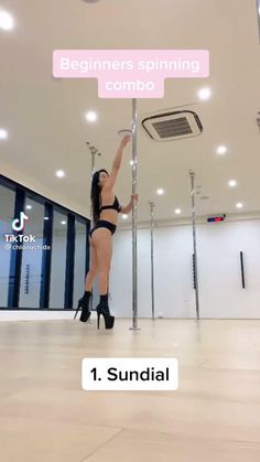 Pole Fitness Moves, Pole Dance Moves, Pole Dancing Fitness, Gym Workout For Beginners, Fitness Workout For Women, Pole Dancing Quotes, Pole Dance Studio, Pole Classes, Pole Sport