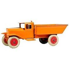 c.1933 Wyandotte, No.326 Pressed Steel Dump Truck