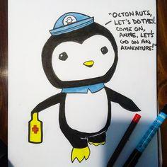 Peso the adorable penguin.
