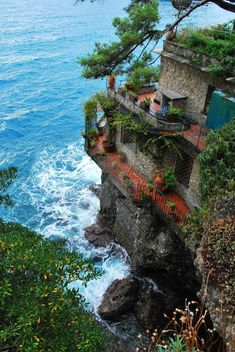 bacon-radio: tentoze: eccellenze-italiane: Dreamhouse by pink-mushroom PORTOFINO Yes, I could live here. Ocean Front Homes, Beautiful Places To Travel, Abandoned Places, Vacation Spots, Beautiful Landscapes, Places To See, Travel Inspiration, Travel Destinations, Travel Photography